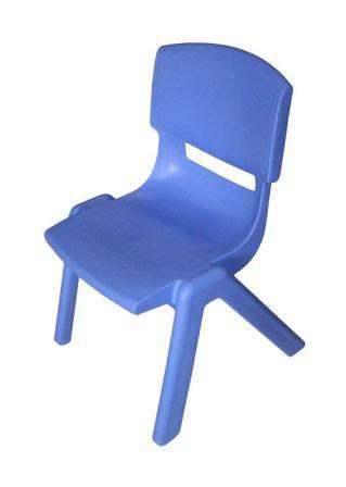 Silla ergonomica escolar 40 cm azul for Silla escolar ergonomica